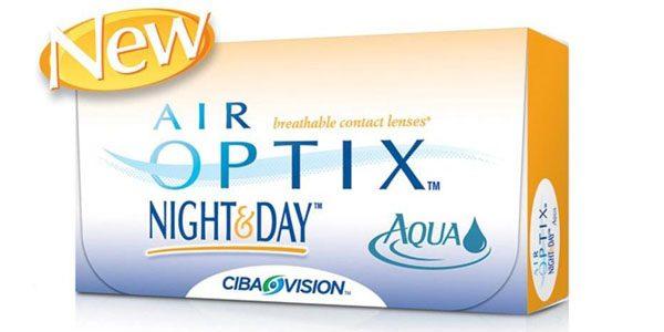 Air Optix Aqua Night Day 3 db-os havi kontaktlencse  b93c98239f